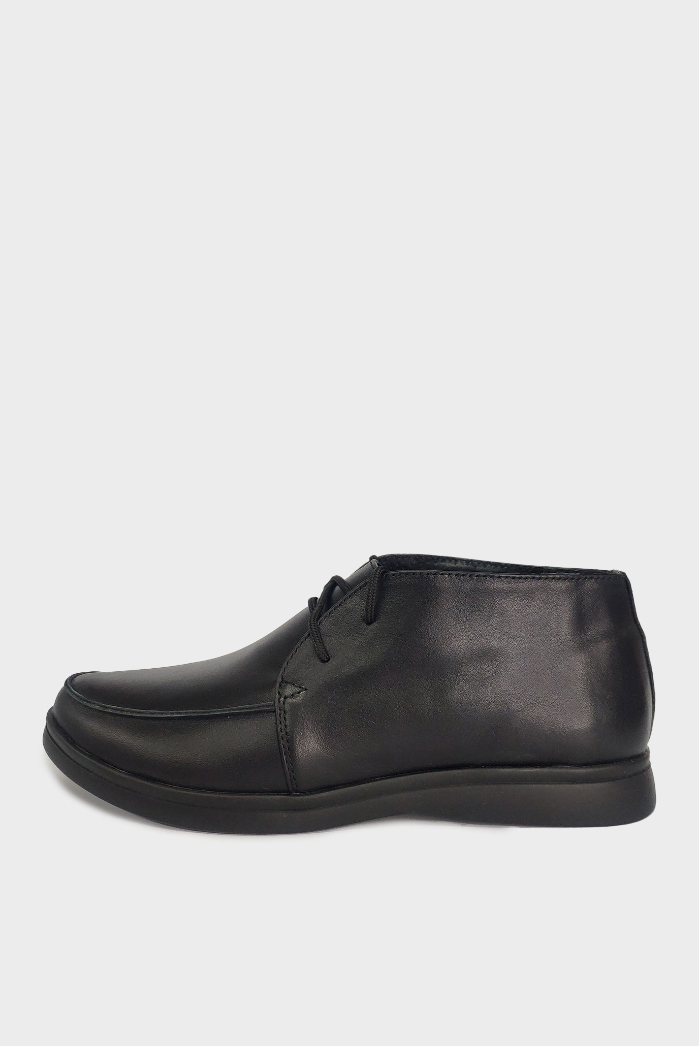 Кожаные Лоферы Air Step черные