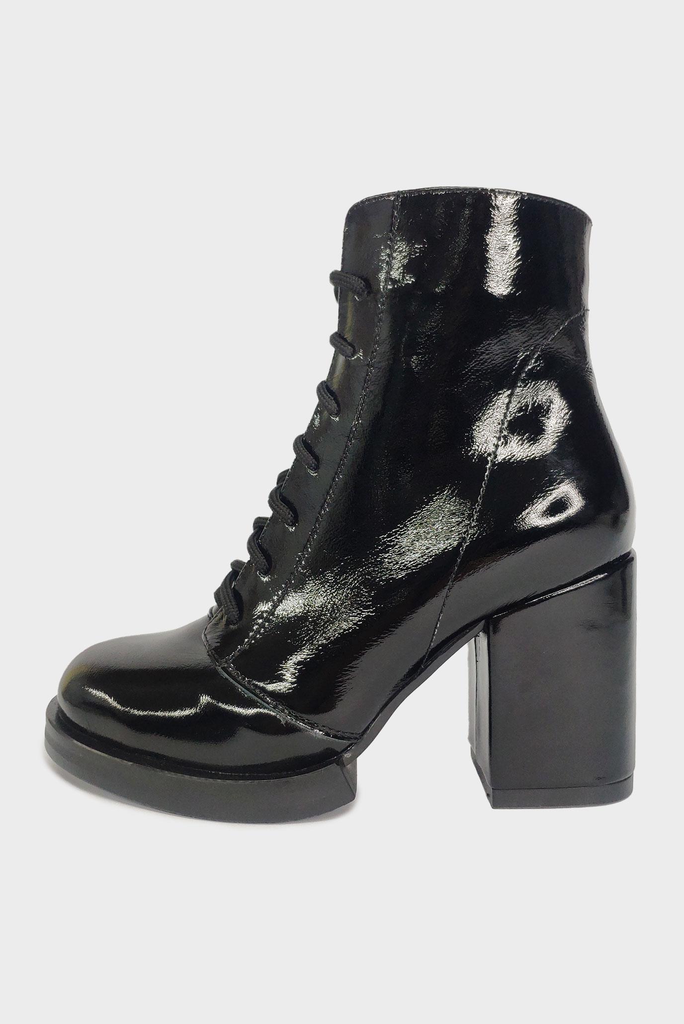 Ботинки из лаковой кожи Air Step