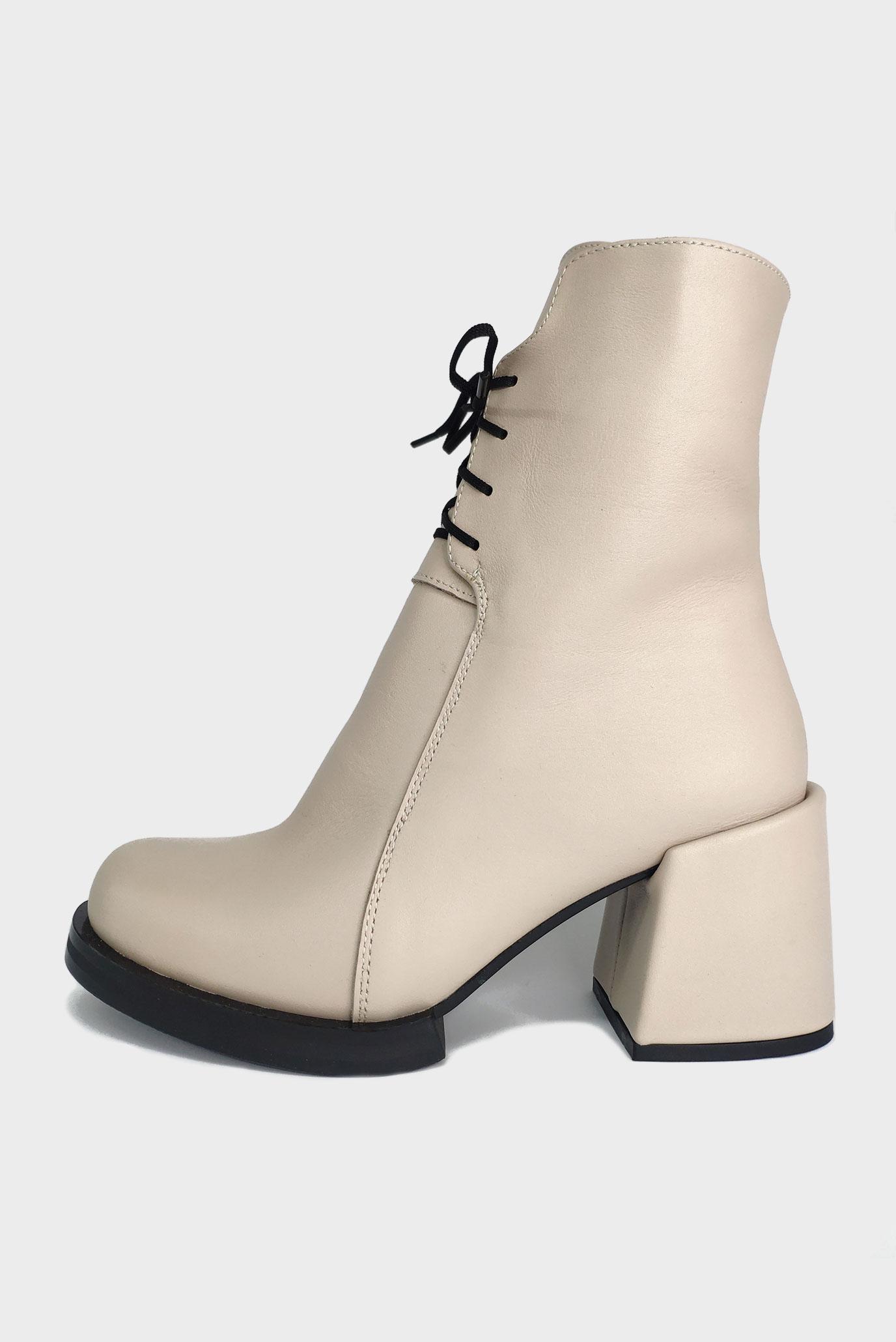 Ботинки из натуральной кожи Air Step beige