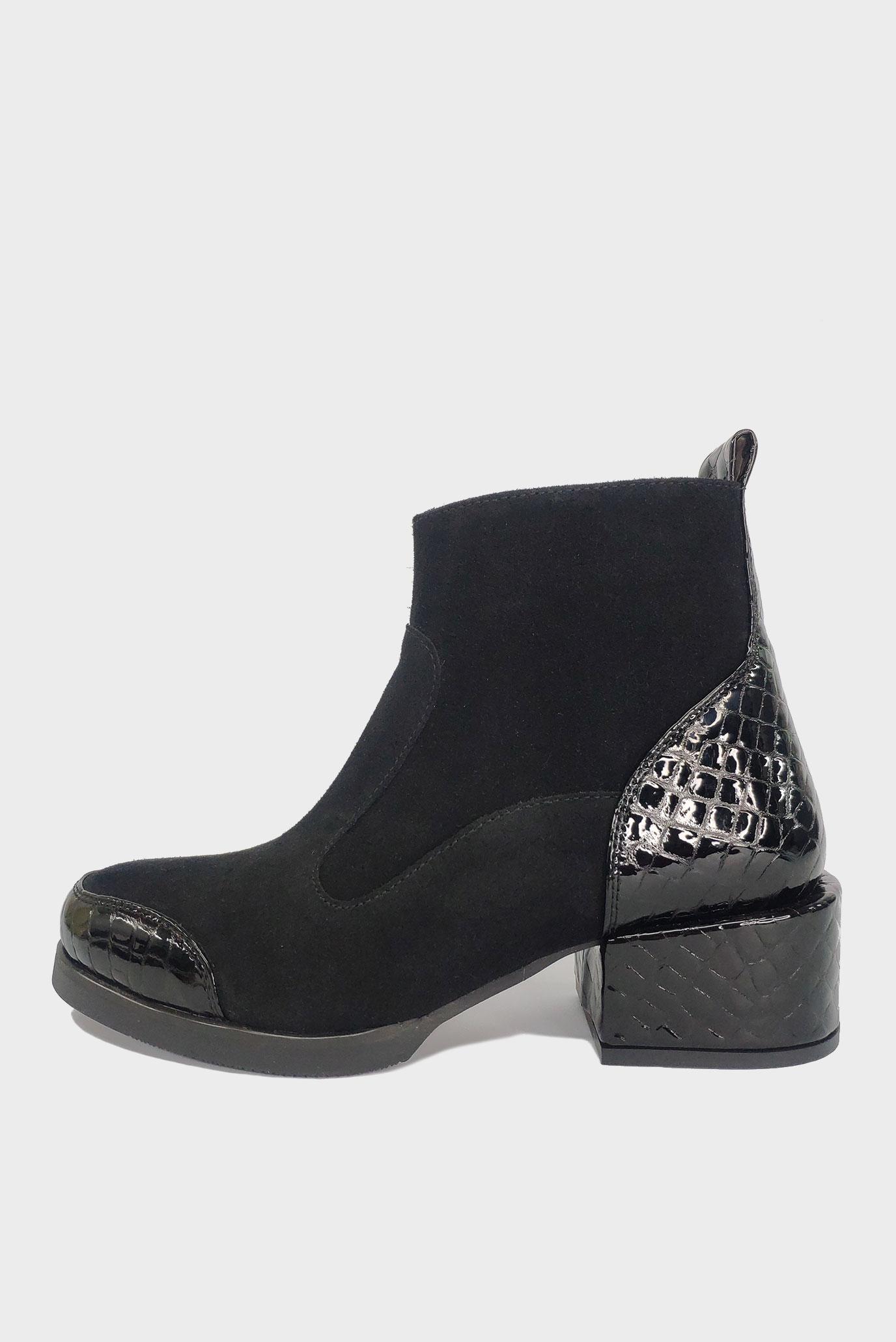 Ботинки из натуральной кожи и замши Air Step