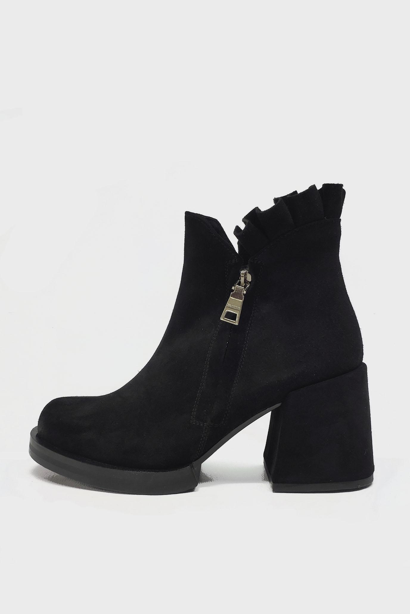 Чёрные Ботинки Air Step