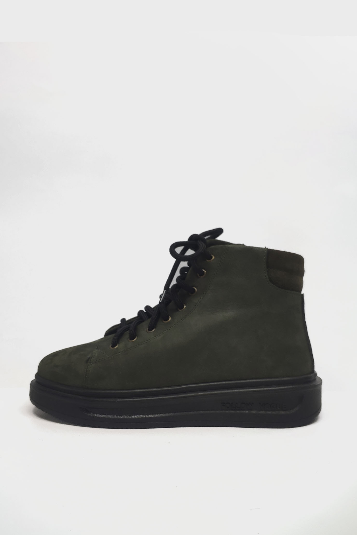 Зелёные Ботинки Air Step
