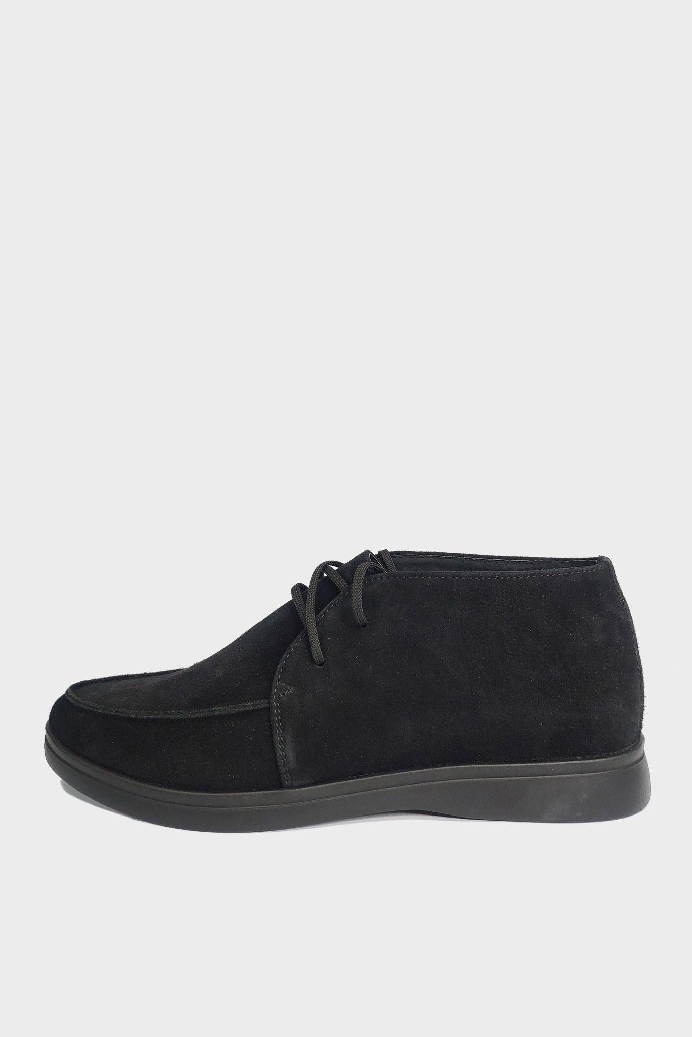 Черные Лоферы на шнурках Air Step